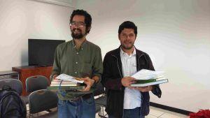 Rómulo Pardo y Miguel Enrique García.