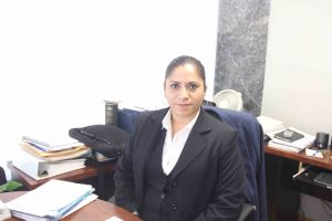 Alejandra Aguilar Cobos, gerente  general del Fondo de Empresas de la UV, A.C.