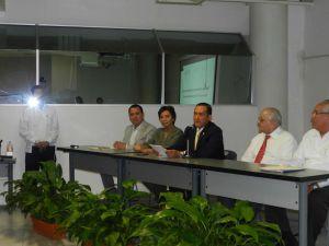 El Fiscal Luis Ángel Bravo Contreras agradeció el apoyo