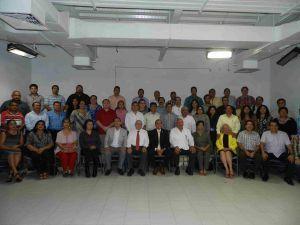 Especialistas en Derecho de la zona conurbada Veracruz-Boca del Río asistentes al foro.