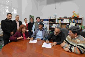 Investigadores de cuerpos académicos del IIB y de la FEI formalizaron su colaboración con la firma de un convenio.