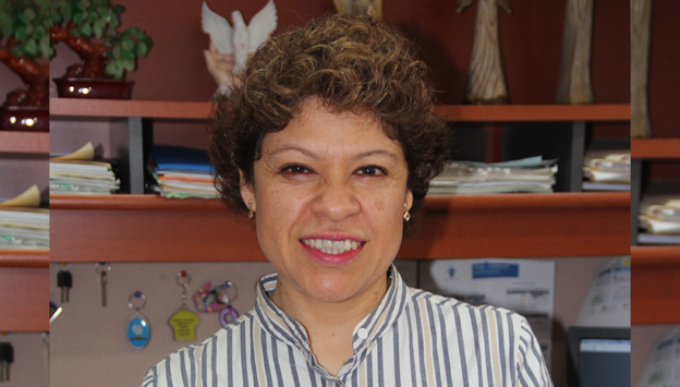 Yolanda Méndez Grajales, directora de la Facultad de Enfermería de la UV, región Xalapa