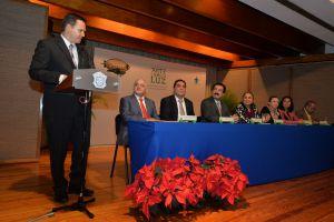 Fabio Morandín Ahuerma, ganador en tesis de doctorado.