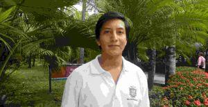 Rafael Tapia Rodríguez, estudiante de la Facultad de Bioanálisis de la UV en Veracruz.