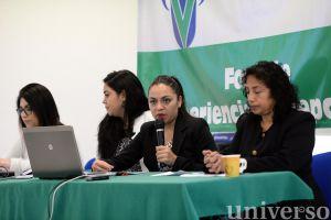 Flor de Liz Castelán Aburto explicó en qué consistió el trabajo realizado en Tatatila