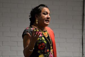 Amaranta Gómez Regalado obtuvo el grado de Licenciada en Antropología Social por la UV.