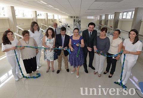 Sara Ladrón de Guevara inauguró una clínica odontológica