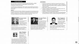 Integrantes del Comité Institucional