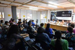 Asistentes a la presentación del libro Violencia, inseguridad y justicia en Veracruz