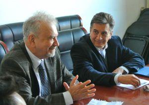 Aníbal Zottele Allende y Guillermo Pulido González