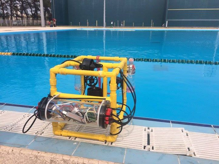 ROV con el que competirán en Houston