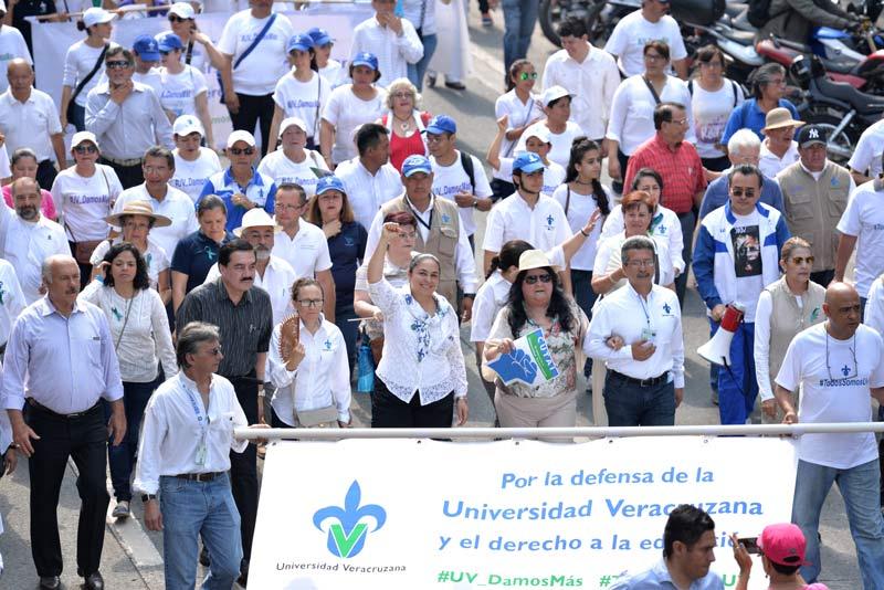 La defensa es por la UV y el futuro de Veracruz: Universitarios