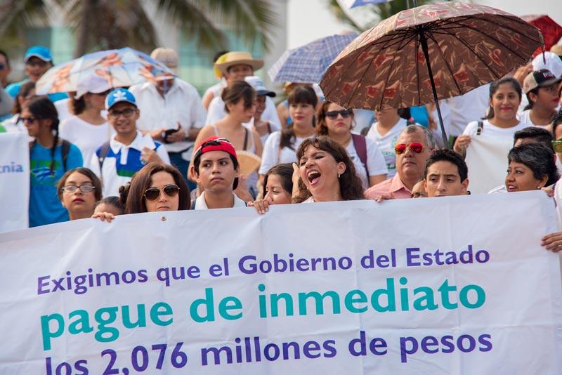 En la región Veracruz participaron más de dos mil 500 universitarios