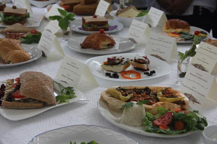 Los platillos expuestos tuvieron una gran variedad en ingredientes y formas de preparación