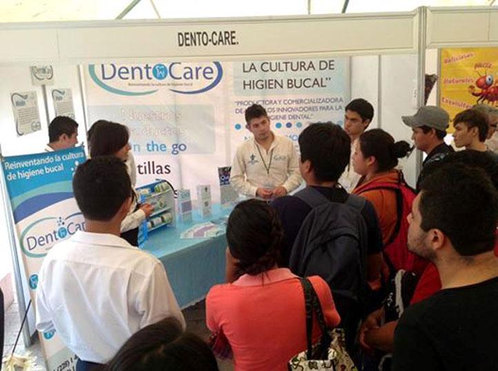 Stand en el concurso regional de ANFECA, realizado en Ciudad del Carmen