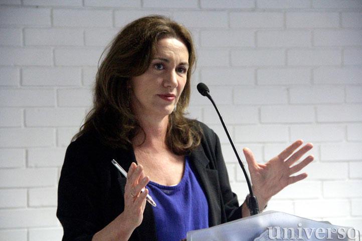 Rosa Beltrán, en su conferencia magistral, habló sobre infancia y literatura