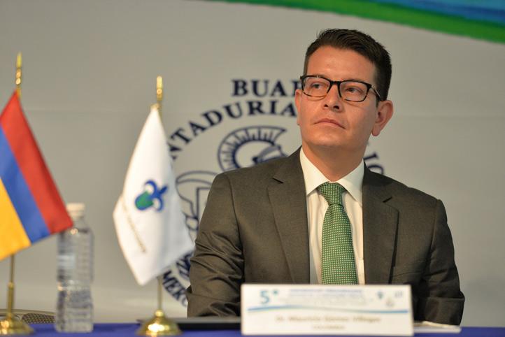 Mauricio Gómez, director de la de la Escuela de Administración y Contaduría Pública de la Universidad Nacional de Colombia