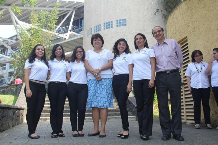 Equipo de la Licenciatura en Administración de Negocios Internacionales, ganador del tercer lugar en el área de mercadotecnia