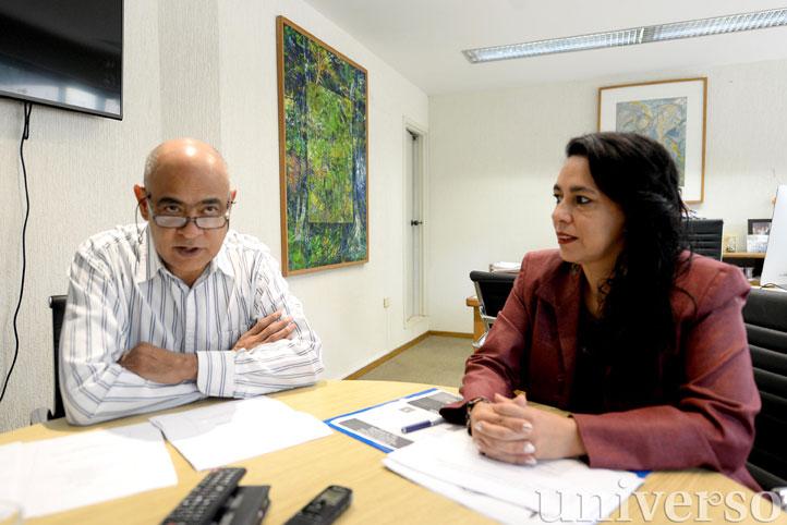 Domingo Canales Espinosa y Rebeca Hernández Arámburo dieron a conocer la conformación de la Red Institucional de Etnobotánica