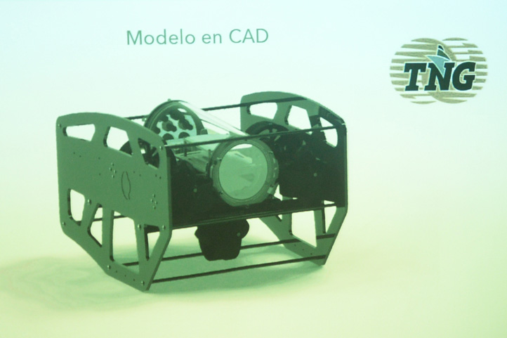 El prototipo posee tres cámaras HD
