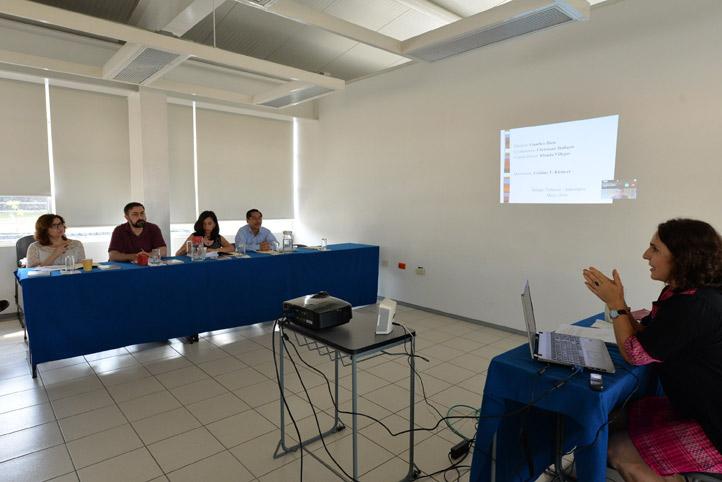 En el Instituto de Investigación en Educación, Cristina Victoria Kleinert defendió su trabajo de tesis doctoral