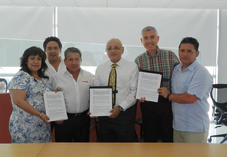 Autoridades de la UV y Nuvoil celebraron el inicio de proyectos de investigación en conjunto