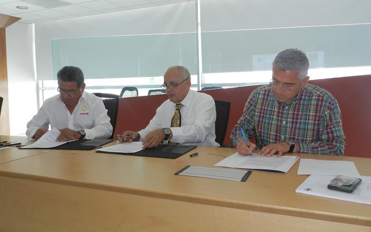 Mariano Hernández Palmeros, Alfonso Pérez Morales y Facundo Pacheco Rojas