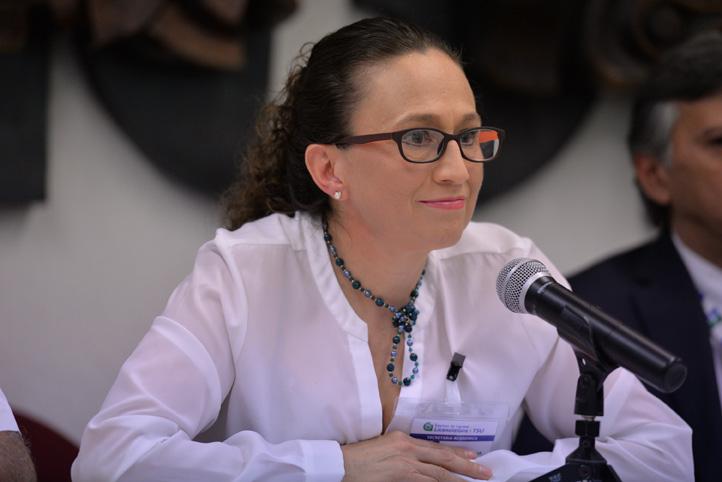 Leticia Rodríguez Audirac, secretaria Académica