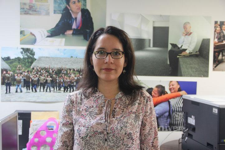 Elizabeth Ocampo Gómez, investigadora de tiempo completo del IIE y coordinador de Evaluación del MEIF