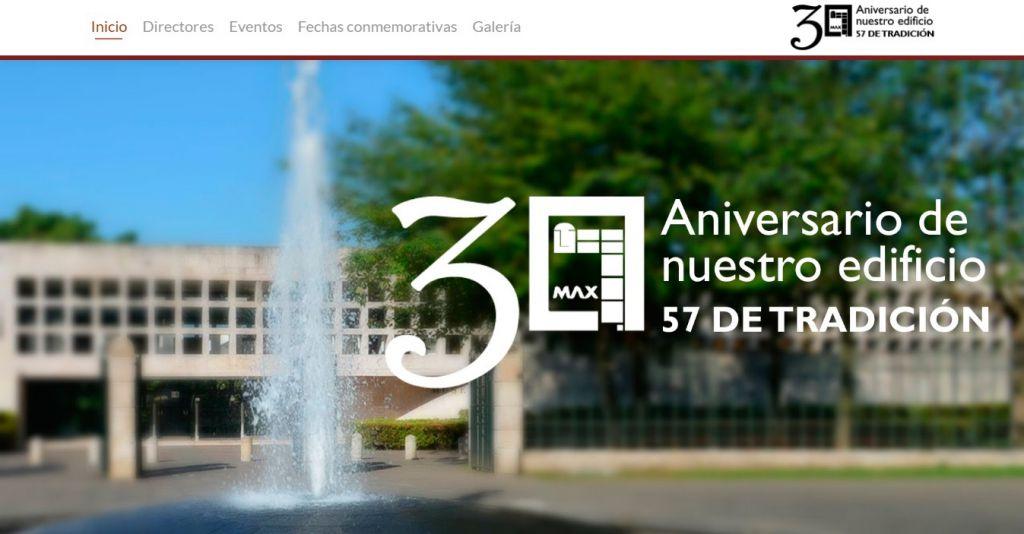 Micrositio conmemorativo del 30 aniversario del recinto