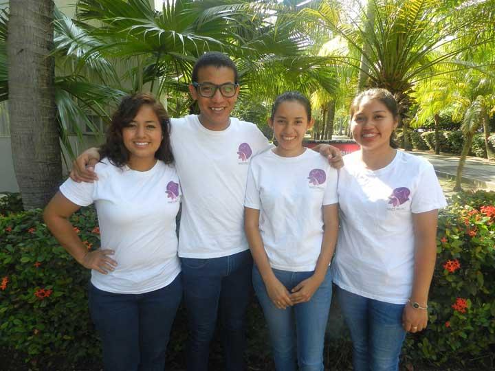 Integrantes del equipo de Nanis Project