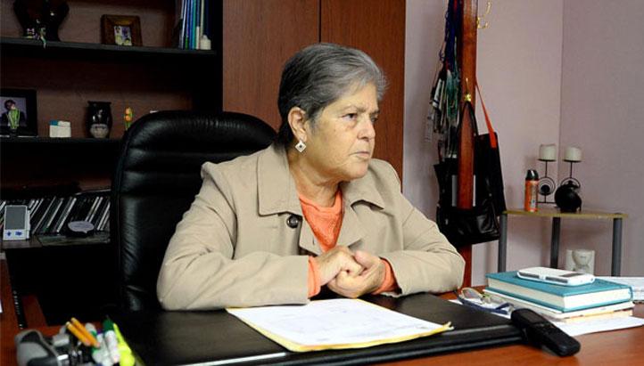 María Luz Márquez Barradas, directora del Instituto de Investigaciones Psicológicas