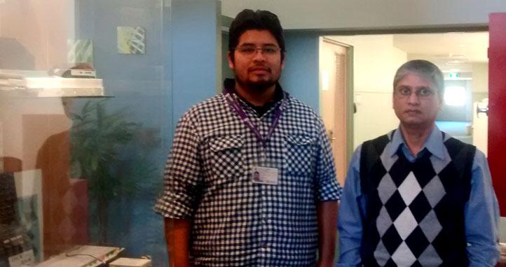 Adán Aguilar acudió en la Universidad de Nueva Gales del Sur de Canberra, en Australia