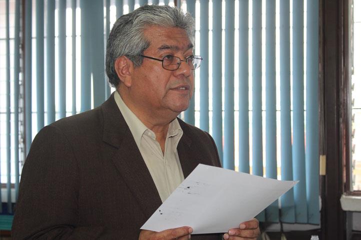 Josué Cortés Zárate, director del Instituto de Ciencias Básicas