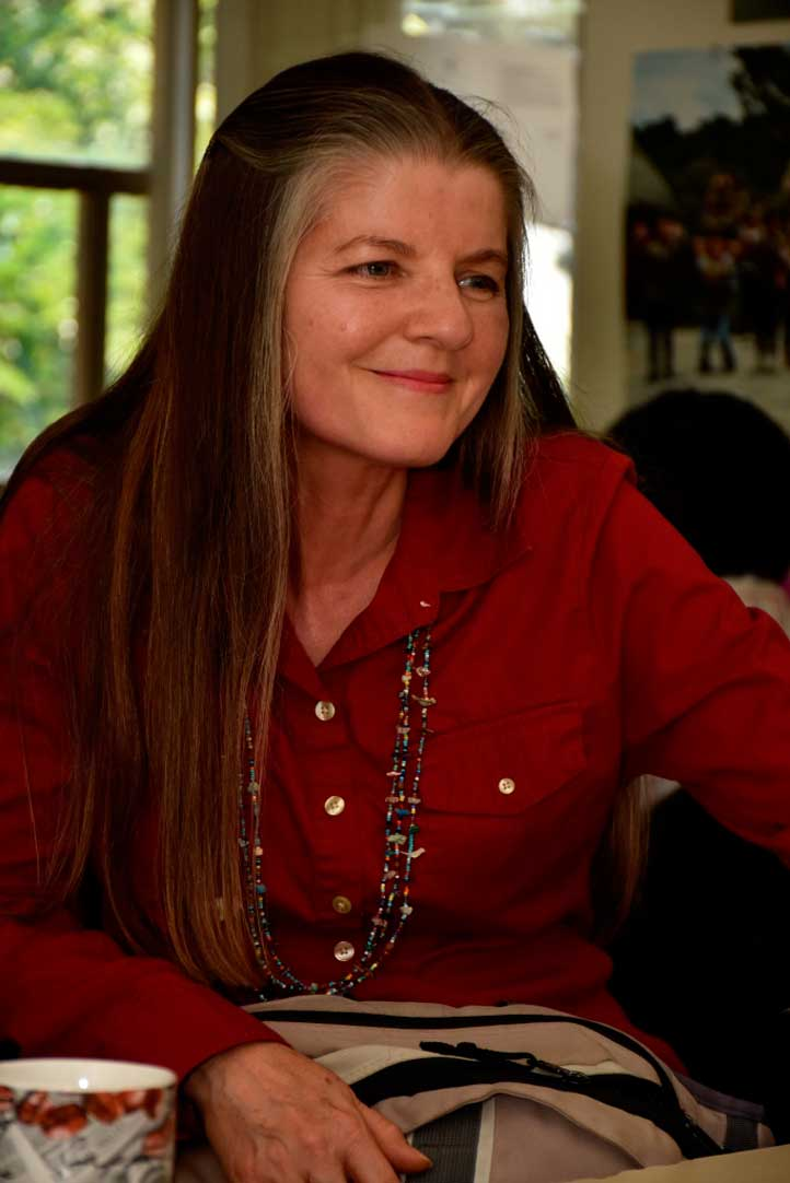 Sandra Lohr, cantante y guitarrista de música popular
