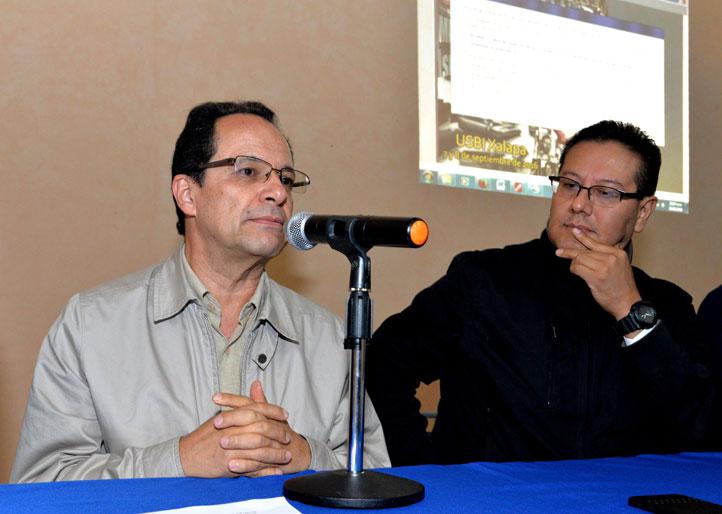 Alberto Olvera y Alfredo Zavaleta compartieron pormenores del evento