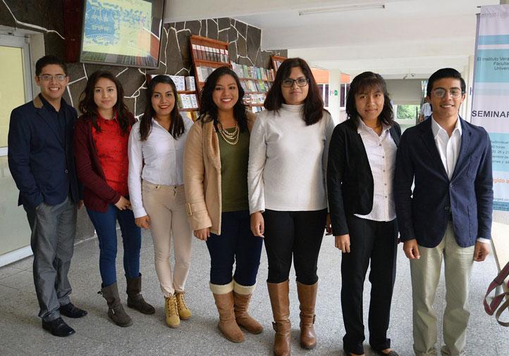 Integrantes del Semillero Iberoamericano de Investigación Jurídica