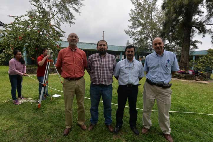 Héctor Jiménez, Ce Tochtli Méndez, Guillermo Ceballos y Eduardo Castillo, certificados a nivel nacional por el CICM