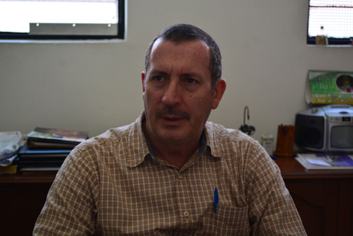 Héctor de Leo Tobalina, comisionado estatal contra las Adicciones