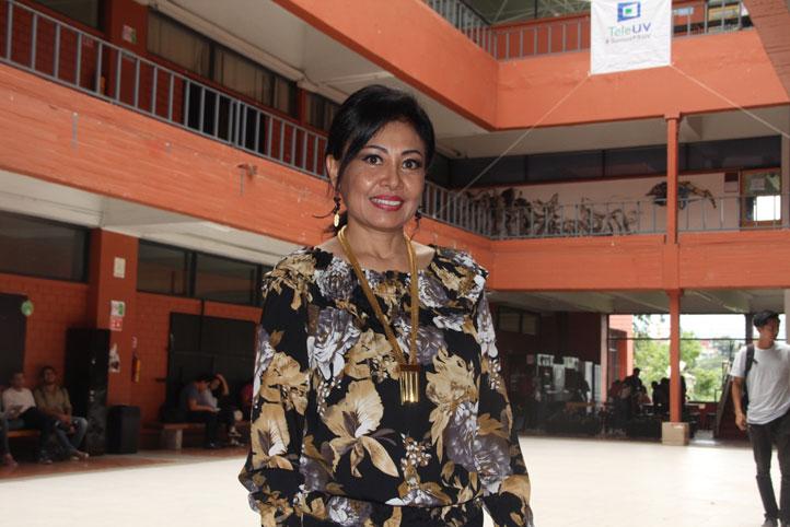 María Guadalupe Noemí Uehara Guerrero, directora de la Facultad de Arquitectura