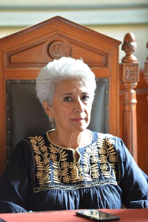 María Enriqueta Flores Fernández, presidenta de Colmena, A.C., y representante de FENACO
