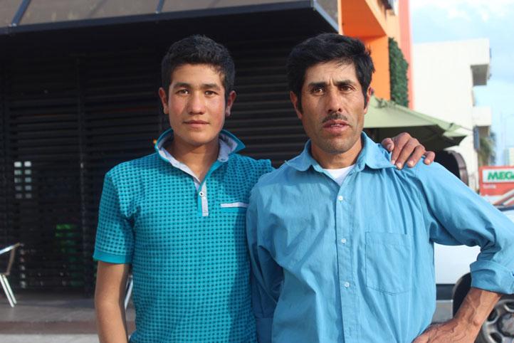 Everardo Córdoba y José Erasto Córdoba, su padre