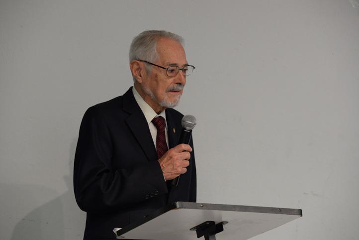 """Ruy Pérez Tamayo, investigador emérito de la UNAM, inició la Jornada de Actualización """"Ética en investigación"""" en la UV"""