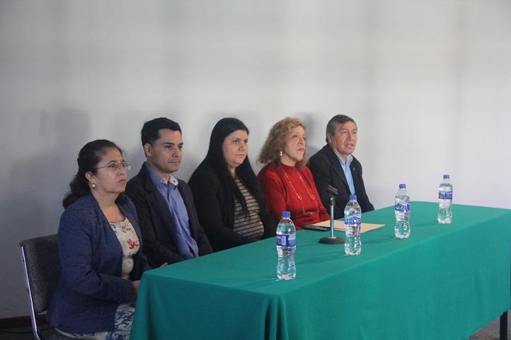 Panel inaugurador del ciclo de conferencias realizado en la FEI