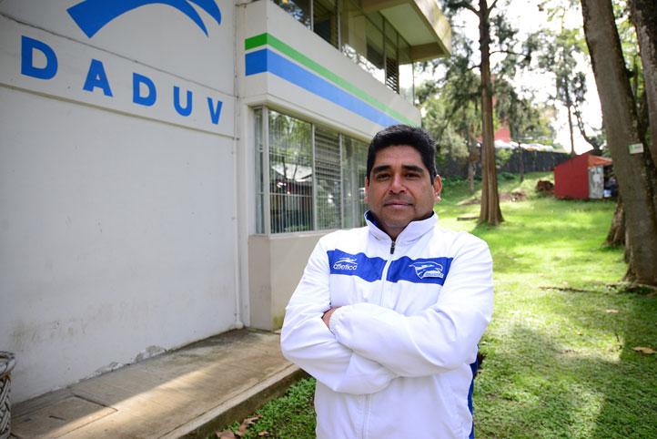 Diego Valerio Cárdenas, entrenador de atletismo