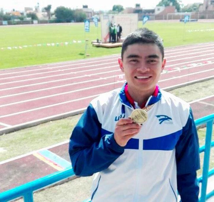 Carlos Jared Mejía, medallista de oro