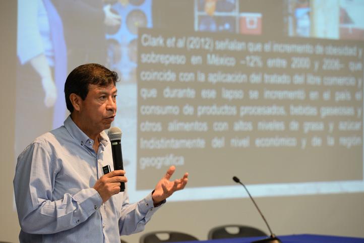Miguel Ángel Escalona Aguilar, titular de la Coordinación Universitaria para la Sustentabilidad