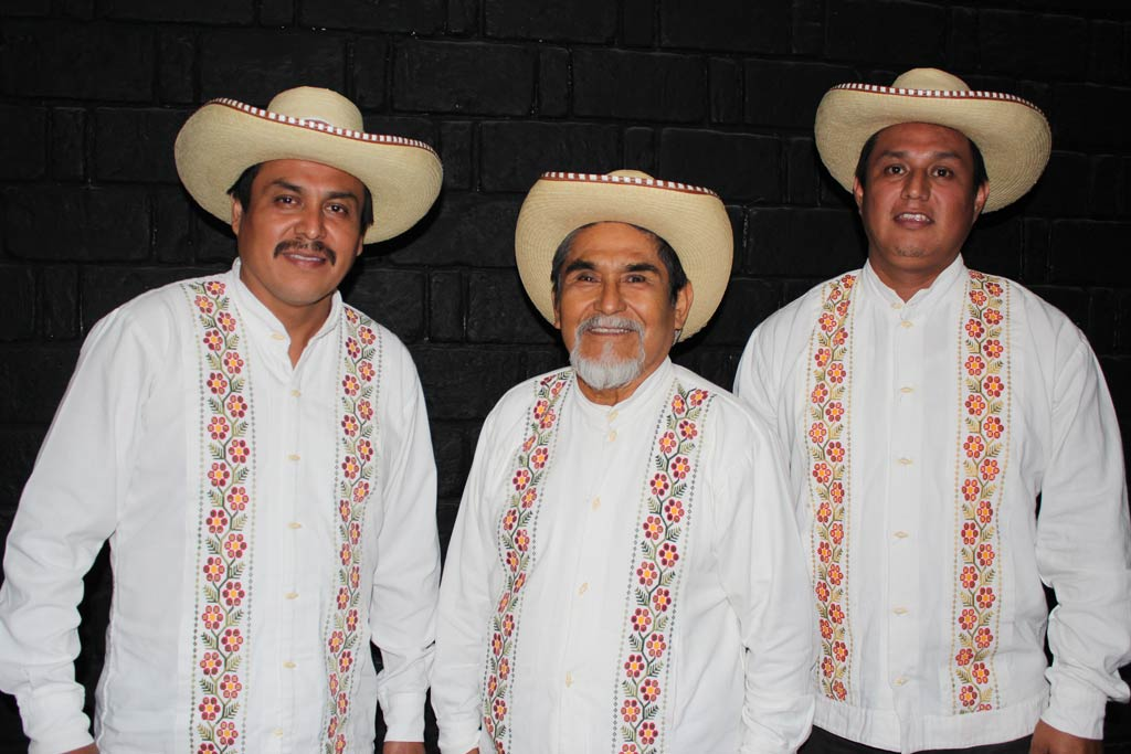 Jorge Alberto, Don Antonio y Marcos Antonio