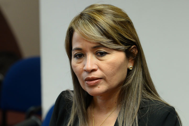 María Edilma Párraga Cedeño, directora de Talento Humano de la Universidad Técnica Estatal de Quevedo, Ecuador