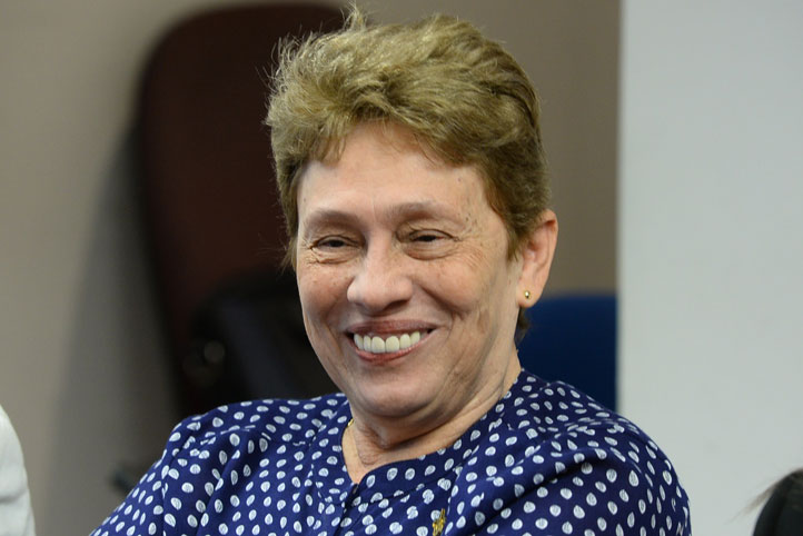 Mary Lupe Angulo de Meza, jefa de División de Recursos Humanos de la Universidad Industrial de Santander, Colombia